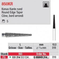 G 850KR.314.018 - Cône, bord arrondi