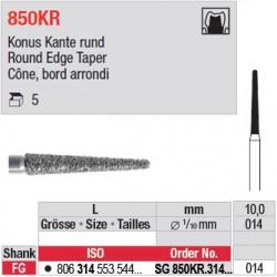 SG 850KR.314.014 - Cône, bord arrondi