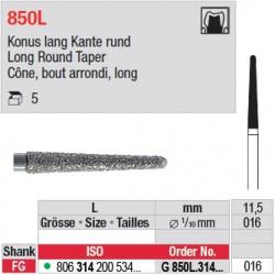 G 850L.314.016 - Cône, bout arrondi, long