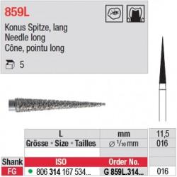 G 859L.314.016 - Cône, pointu long