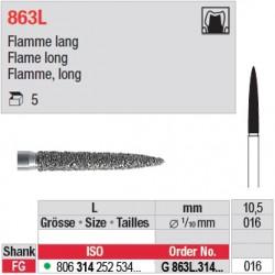 G 863L.314.016 - Flamme, long