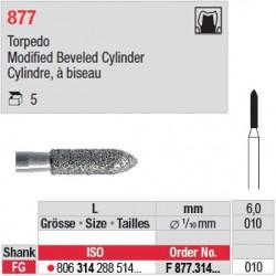 F 877.314.010 - Cylindre, à biseau