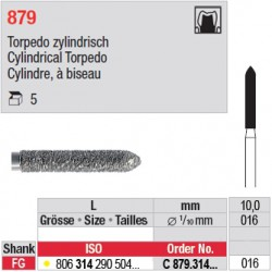 C 879.314.016 - Cylindre, à biseau