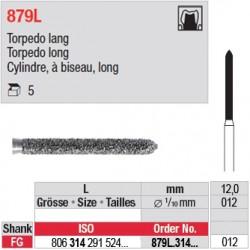 879L.314.012 - Cylindre, à biseau, long