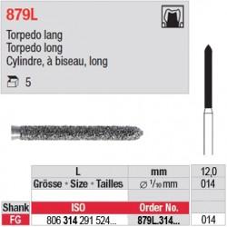 879L.314.014 - Cylindre, à biseau, long