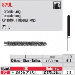 G 879L.314.014- Cylindre, à biseau, long