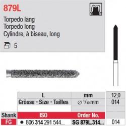 SG 879L.314.014 - Cylindre, à biseau, long