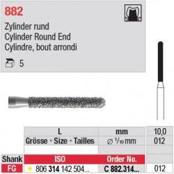 C 882.314.012 - Cylindre, bout arrondi