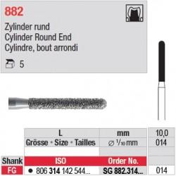 SG 882.314.014 - Cylindre, bout arrondi