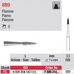 F 889.314.009 - Flamme