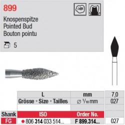 F 899.314.027 - Bouton pointu