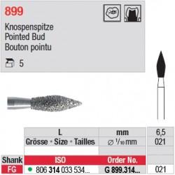 G 899.314.021 - Bouton pointu