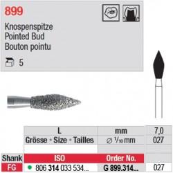 G 899.314.027 - Bouton pointu
