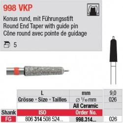 998.314.026 VKP - Cône round avec pointe de guidage