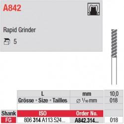 A847 / A848 A837 / A842 - Rapid Grinder
