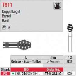 T811.314.033 C - D- Baril