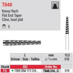 T848.314.018C - Cône, bout plat