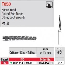 T850.314.012C - Cône, bout arrondi