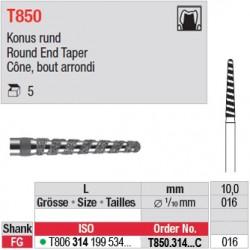 T850.314.016C - Cône, bout arrondi