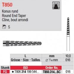 T850.314.016SC - Cône, bout arrondi