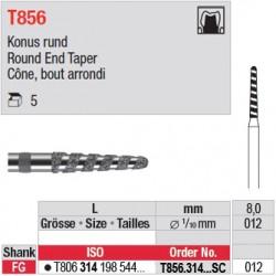 T856.314.012SC - Cône, bout arrondi