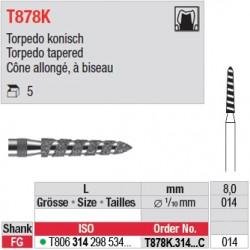 T878K.314.014C - Cône allongé, à biseau