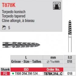 T878K.314.018C - Cône allongé, à biseau