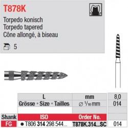 T878K.314.014SC - Cône allongé, à biseau