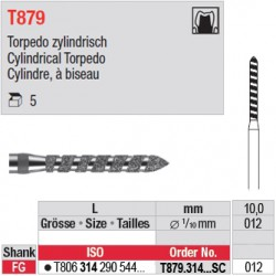 T879.314.012SC - Cylindre, à biseau