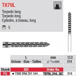 T879L.314.012SC - Cylindre, à biseau, long