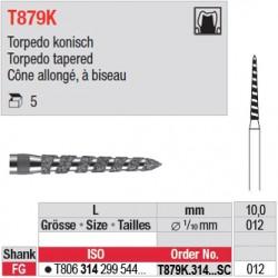 T879K.314.012SC - Cône allongé, à biseau