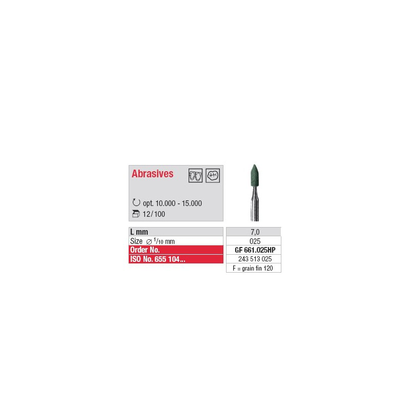 Abrasif - GF 661.025HP