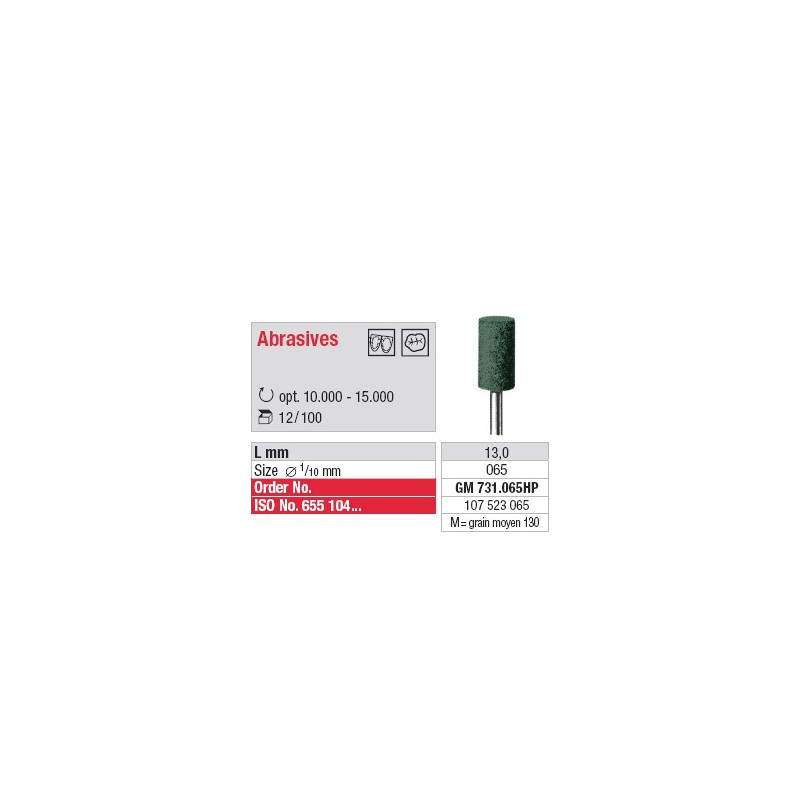 Abrasif - GM 731.065HP