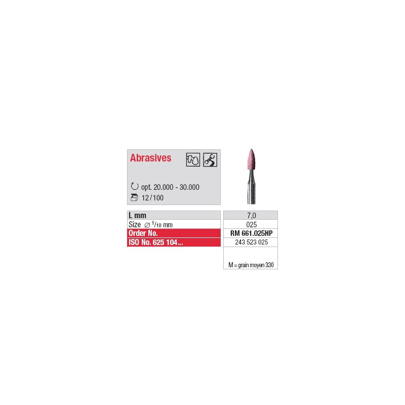 Abrasif - RM 661.025HP