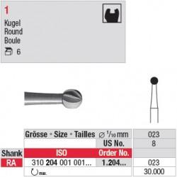1.204.023 - Fraise en acier - Boule
