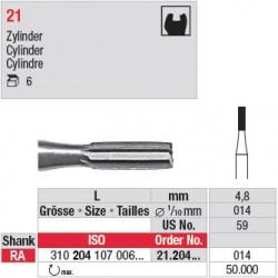 21.204.014 - Fraise en acier - Cylindre