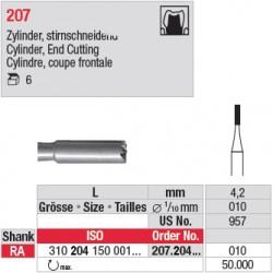 207.204.010 - Fraise en acier - Cylindre coupe frontale