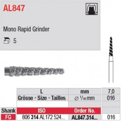 AL847.314.016 - Mono Rapid Grinder FG