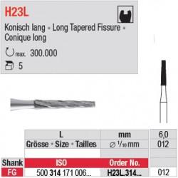 H23L.314.012 - Fraise carbure de tungstène - FGL - Conique