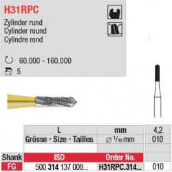 H31RPC.314.010 - Fraise carbure de tungstène - FG - Cylindre rond