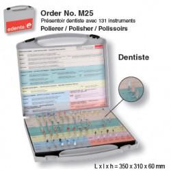 M25 - Présentoir à polissoirs - dentiste