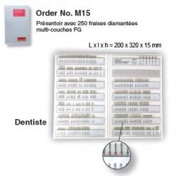M15 - Présentoir à fraies FG - dentiste