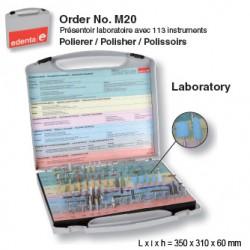 M20 - Présentoir à polissoirs - laboratoire