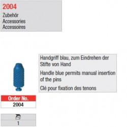 2004 - Clé de fixation manuelle des tenons rétentifs