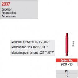 "2037-10 - Mandrins pour tenons ""Retopins"" 0,5/0,6 mm"