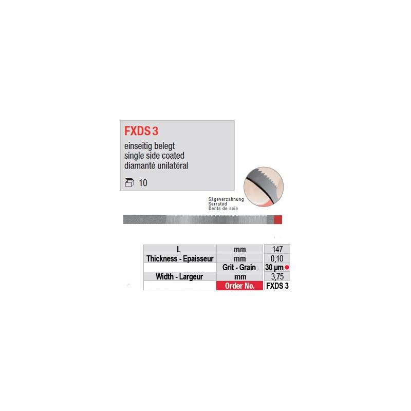 FXDS 3 - diamanté unilatéral
