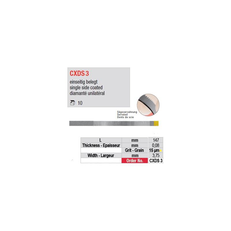 CXDS 3 - diamanté unilatéral