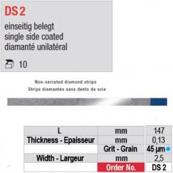 DS 2 - diamanté unilatéral