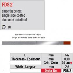 FDS 2 - diamanté unilatéral