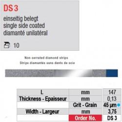 DS 3 - diamanté unilatéral